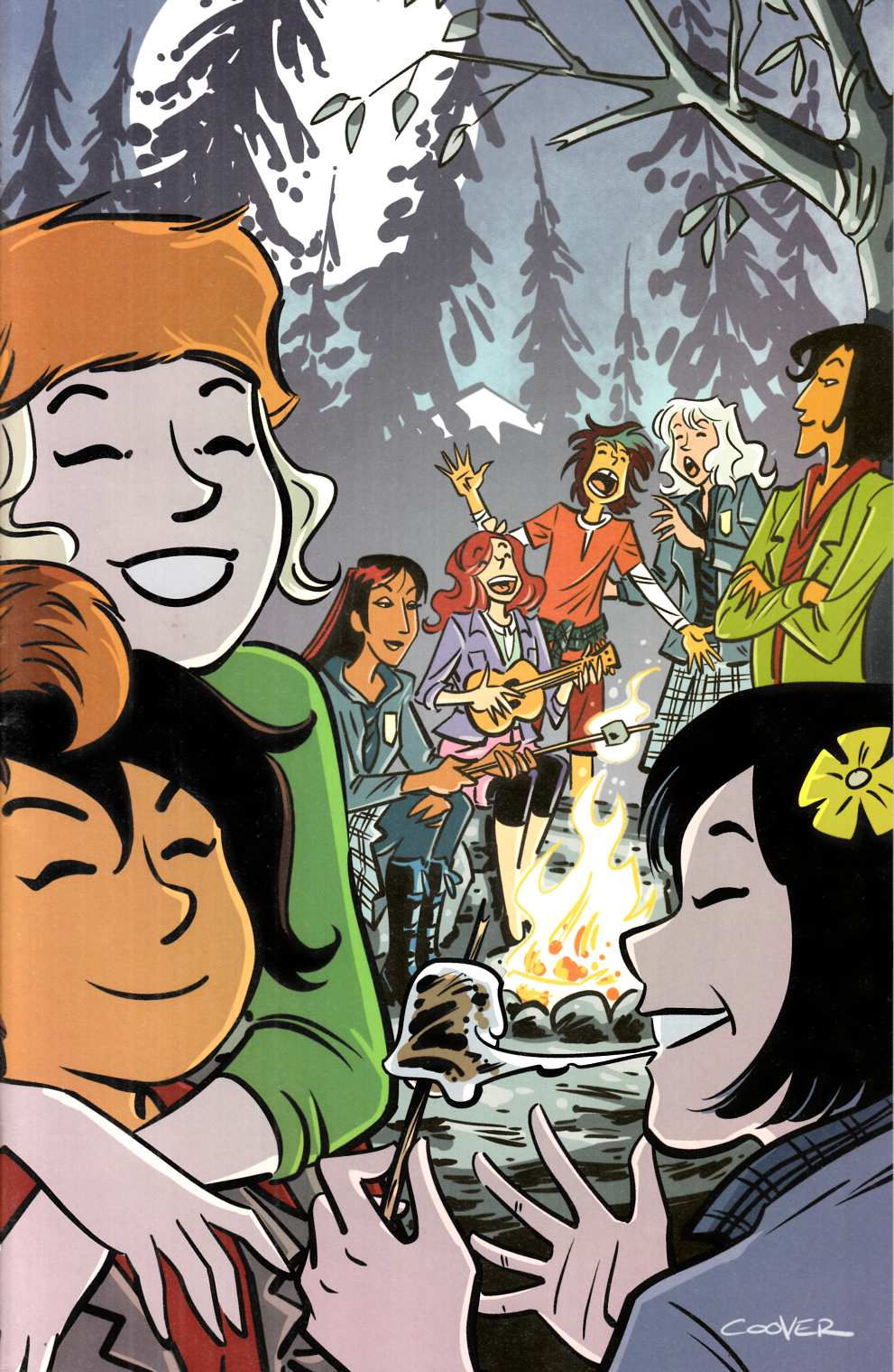 Lumberjanes Gotham Academy #2 Coover Incentive Cover [Boom Comic] LARGE