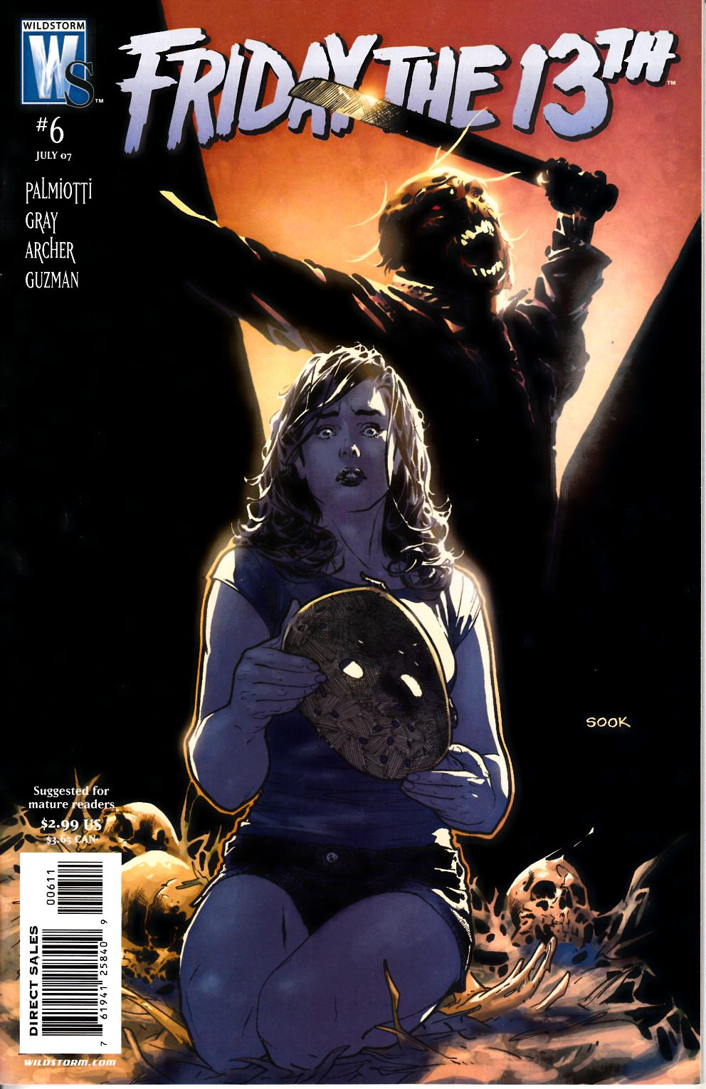 Friday the 13th #6 Near Mint Minus (9.2) [DC Comic] THUMBNAIL