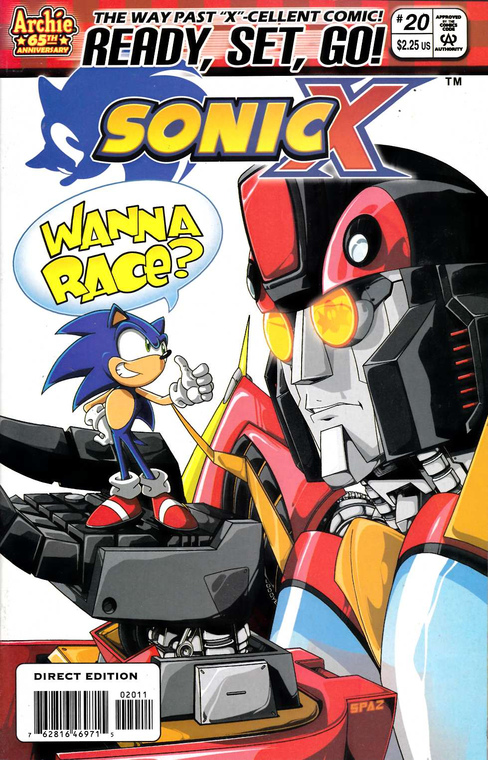 Sonic X #20 Very Fine (8.0) [Archie Comic] THUMBNAIL