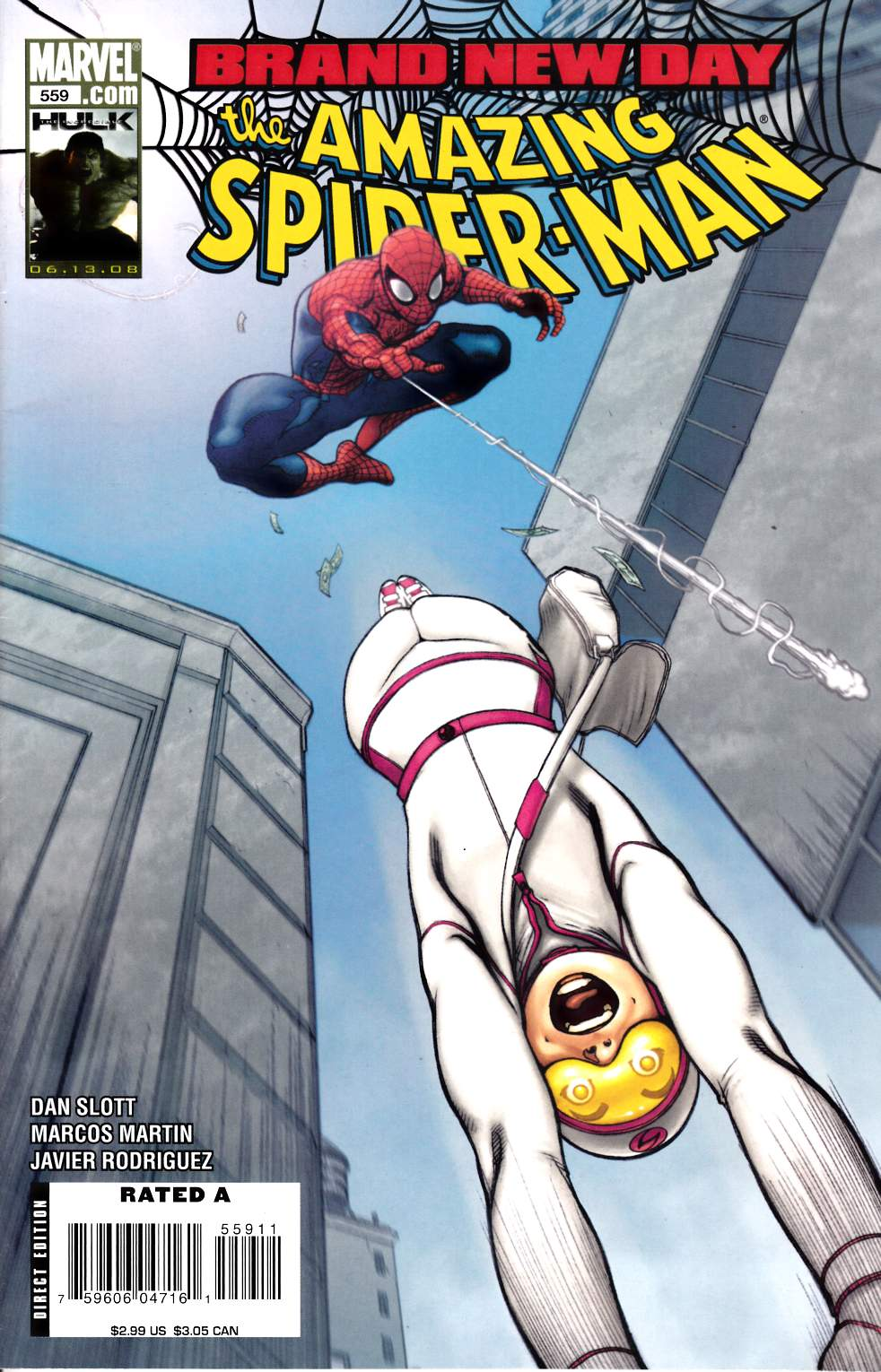 Amazing Spider-Man #559 Fine (6.0) [Marvel Comic] LARGE