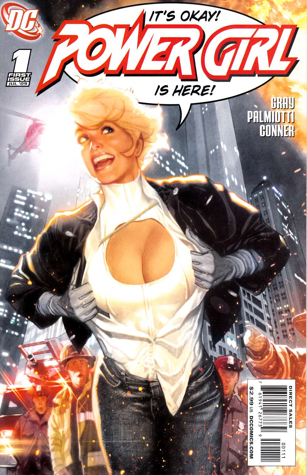 Power Girl #1 Cover A [DC Comic]_THUMBNAIL