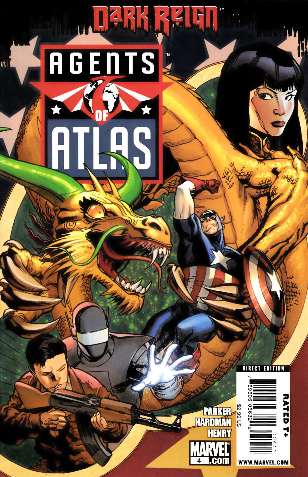 Agents of Atlas #4 Very Fine (8.0) [Marvel Comic] THUMBNAIL