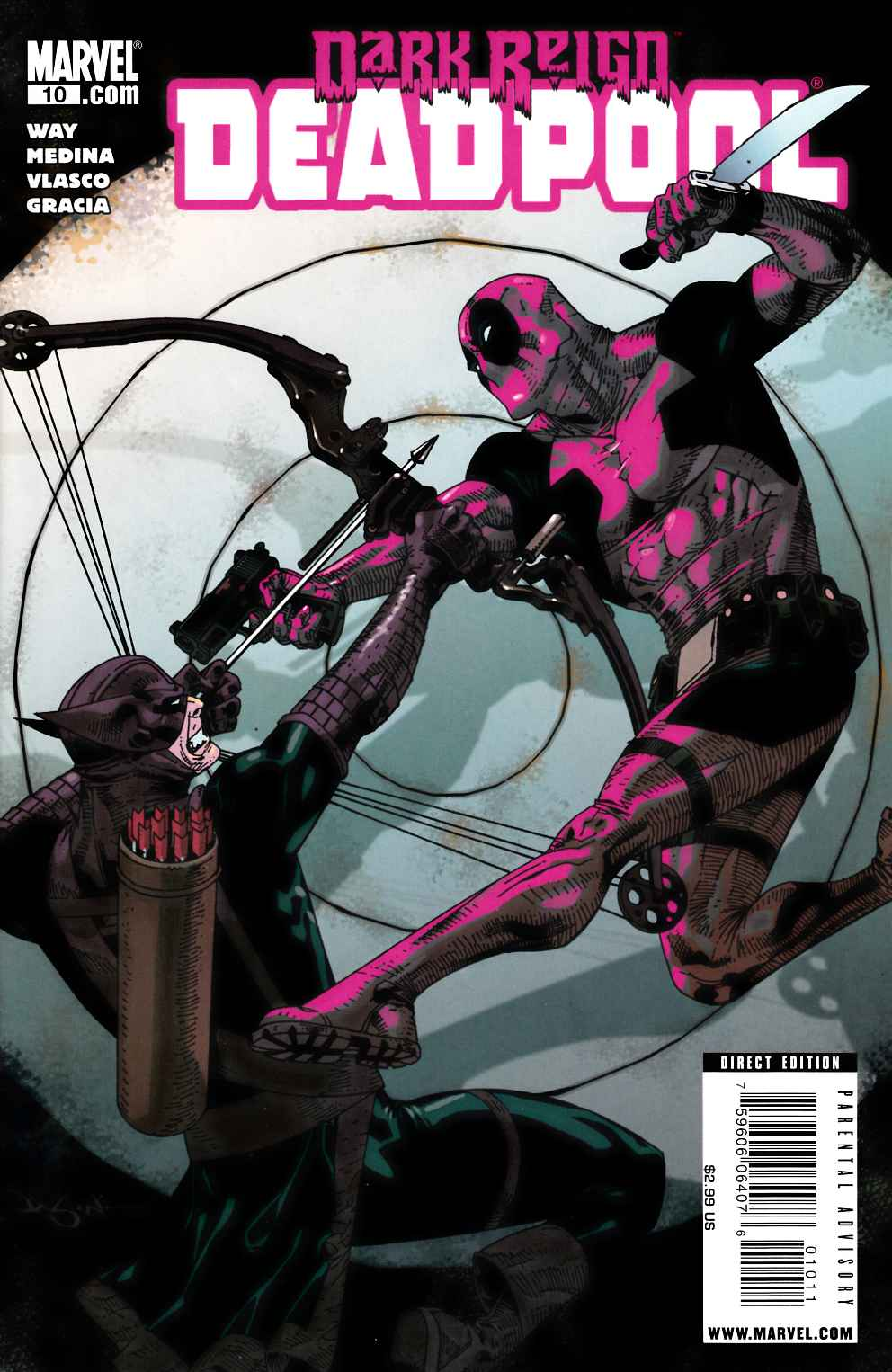 Deadpool #10 Very Fine (8.0) [Marvel Comic] LARGE