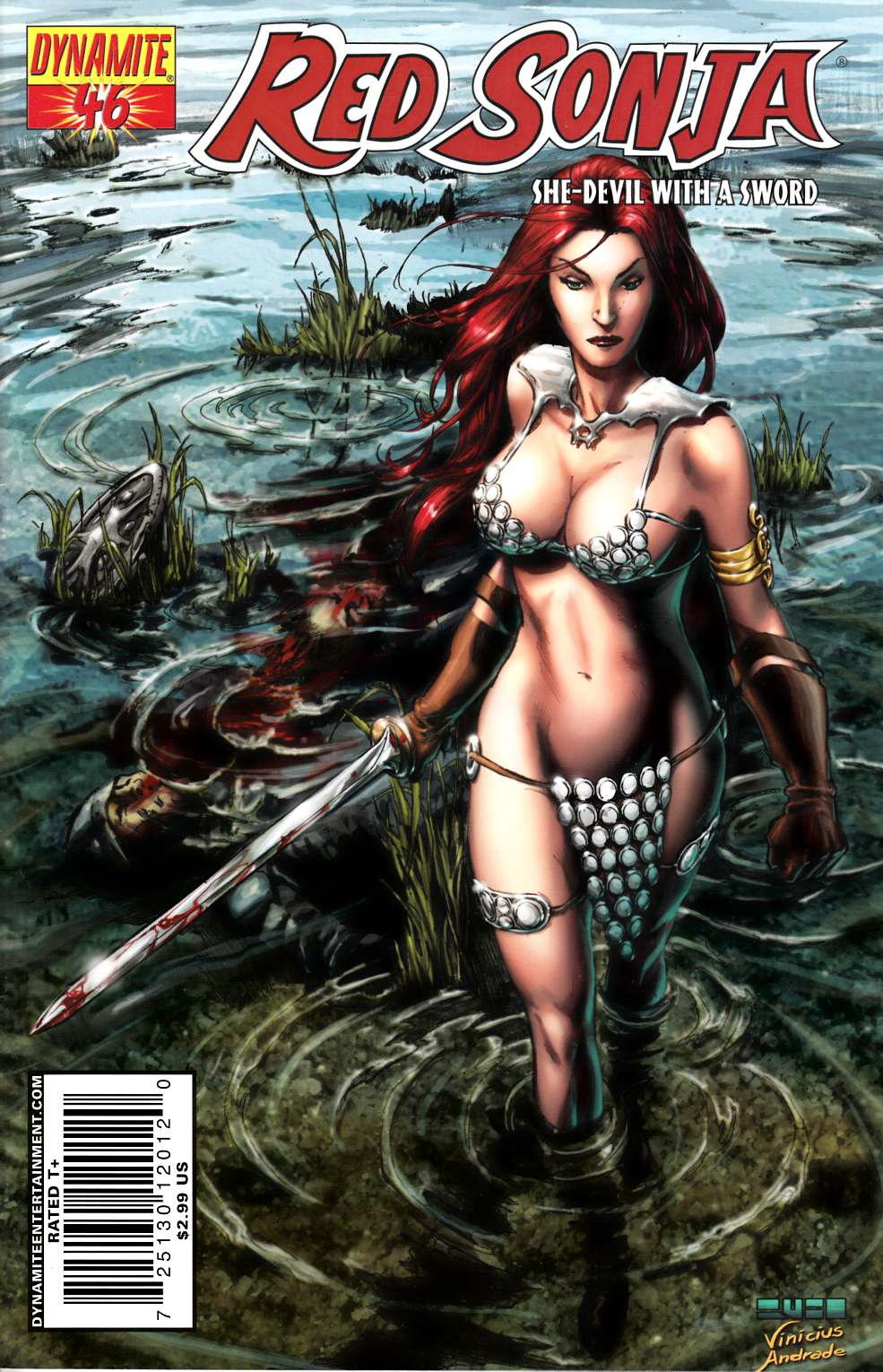 Red Sonja #46 Rubi Cover Very Fine (8.0) [Dynamite Comic] THUMBNAIL