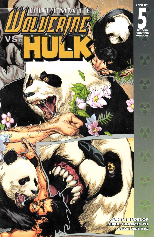 MARVEL COMICS FEB092480 ULTIMATE WOLVERINE VS HULK #5