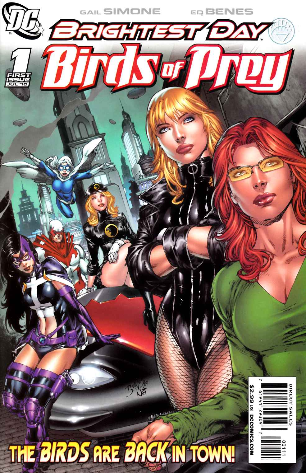 Birds of Prey #1 Near Mint (9.4) [DC Comic]