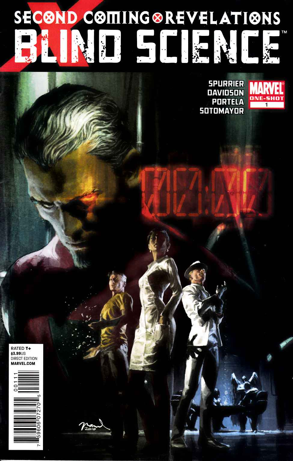 X-Men Blind Science #1 Very Fine (8.0) [Marvel Comic] THUMBNAIL