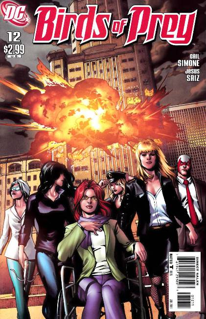 Birds of Prey #12 Near Mint (9.4) [DC Comic]