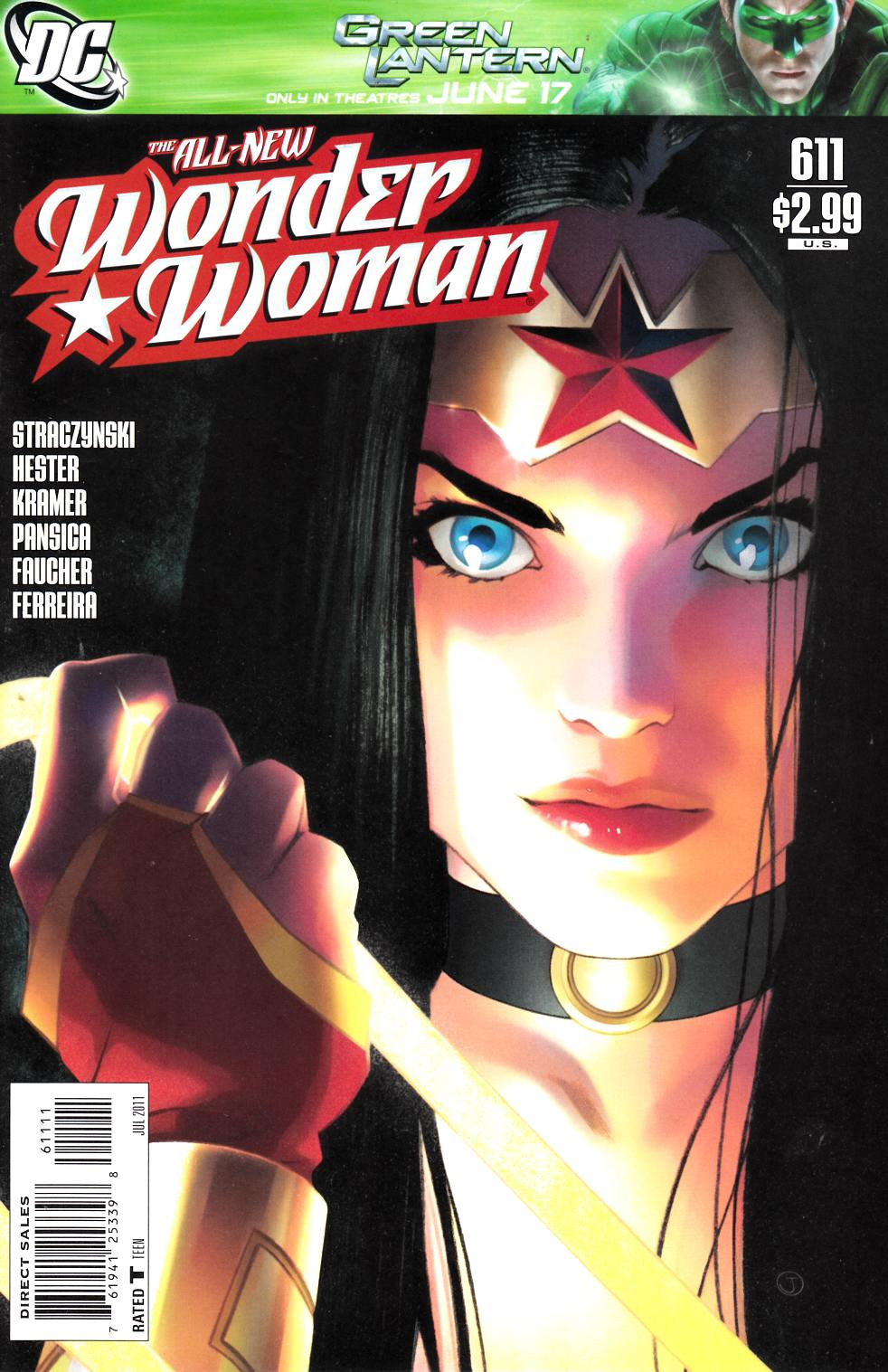 Wonder Woman #611 Near Mint (9.4) [DC Comic] THUMBNAIL