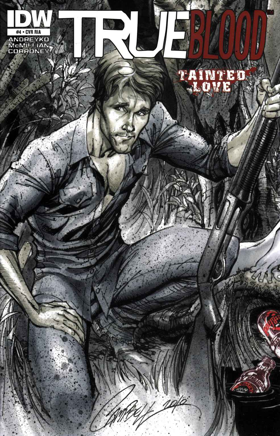 True Blood Tainted Love #4 Cover RIA Near Mint (9.4) [IDW Comic] THUMBNAIL