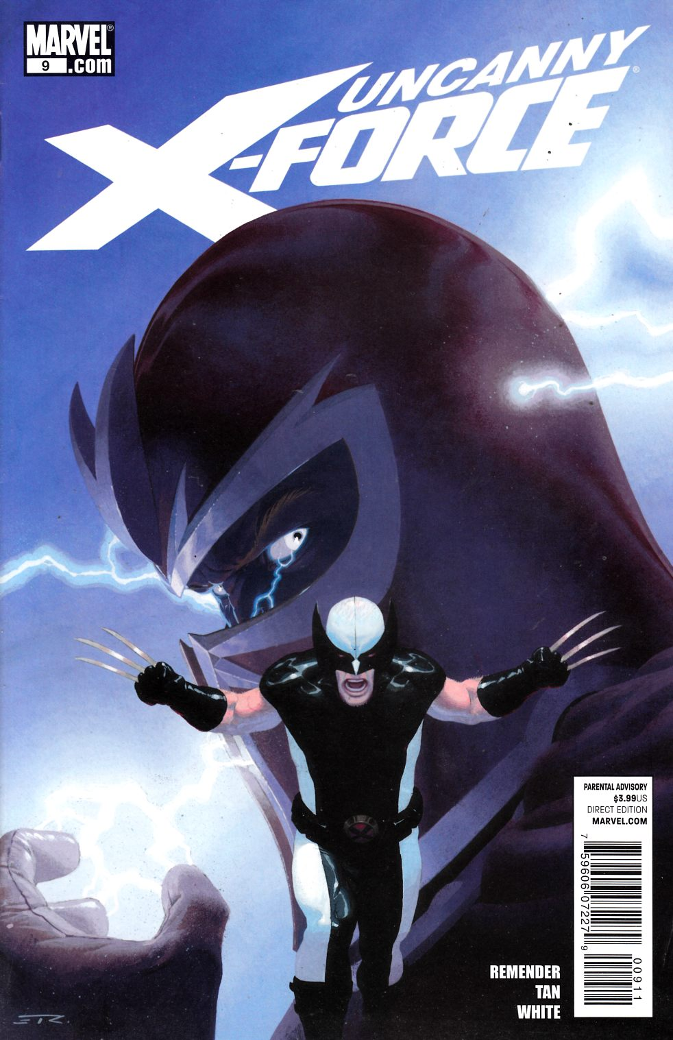 Uncanny X-Force #9 Fine (6.0) [Marvel Comic] THUMBNAIL