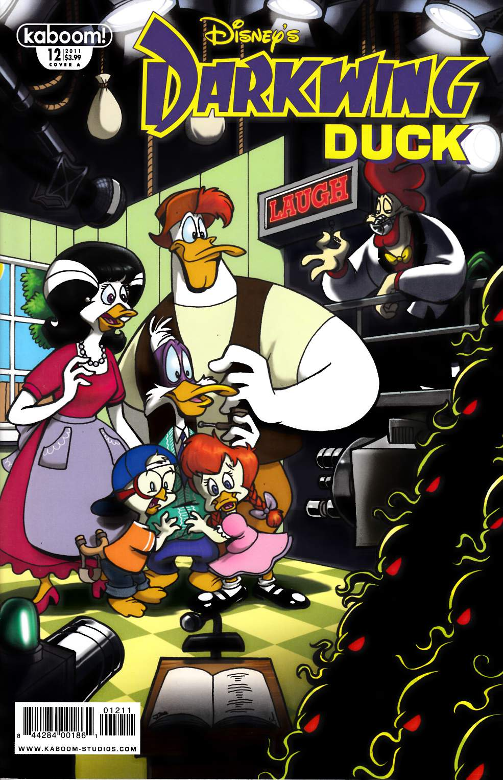 Darkwing Duck #12 Cover A Near Mint Minus (9.2) [Boom Comic] THUMBNAIL
