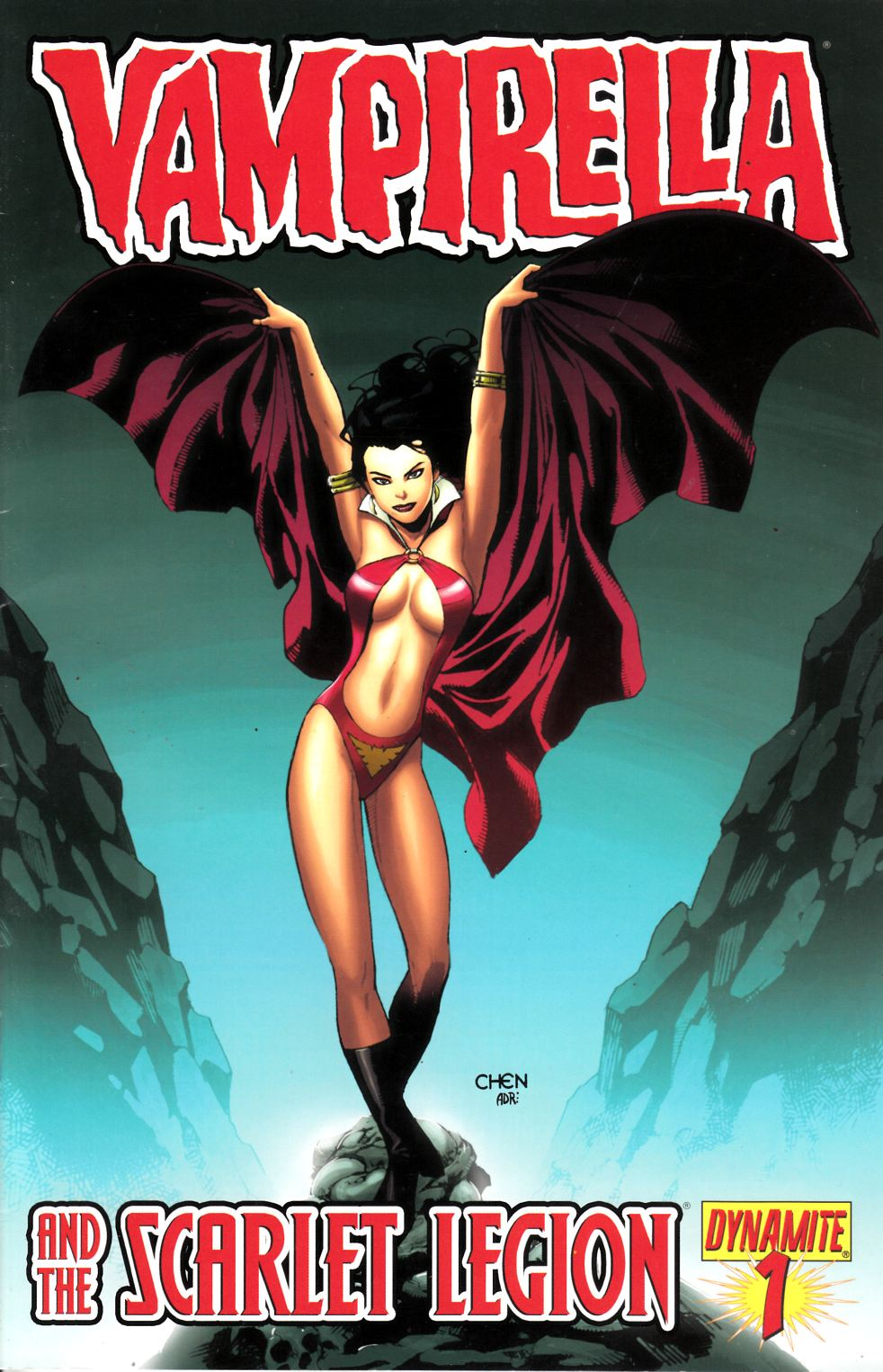 Vampirella and the Scarlet Legion #1 Chen Cover Fine (6.0) [Dynamite Comic] THUMBNAIL