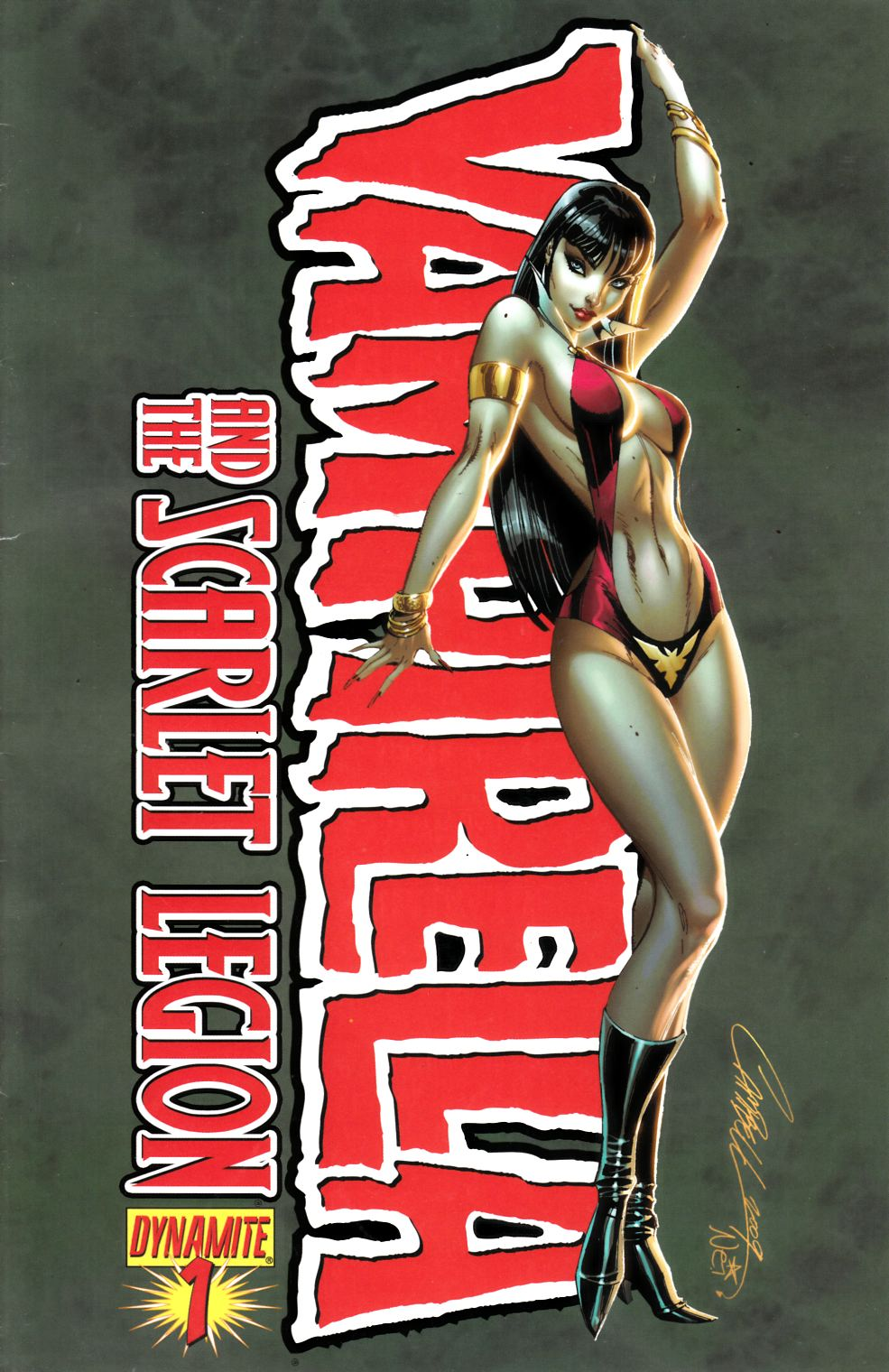 Vampirella and the Scarlet Legion #1 Campbell Cover Fine (6.0) [Dynamite Comic] THUMBNAIL