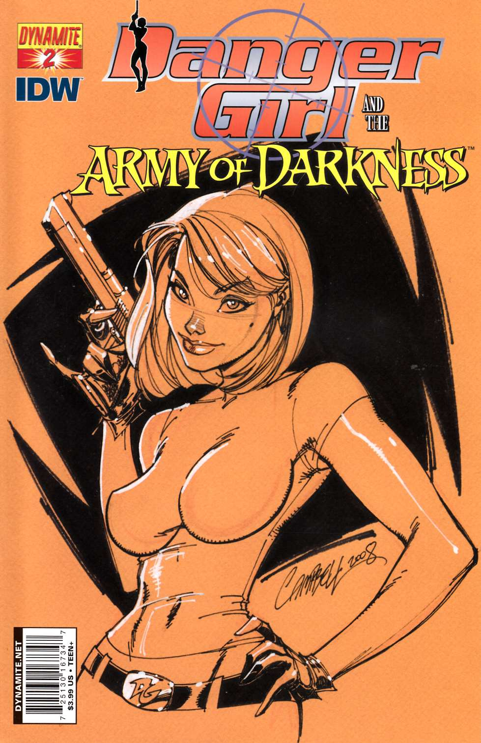 Danger Girl Army of Darkness #2 Cover A [Dynamite Comic] THUMBNAIL