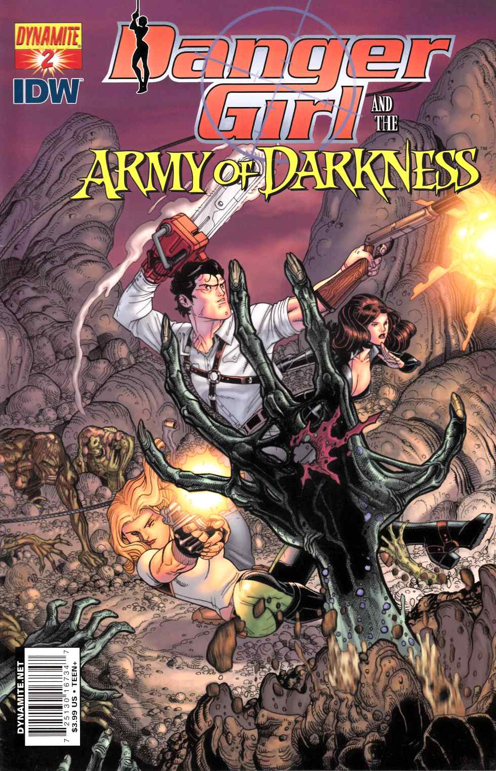 Danger Girl Army of Darkness #2 Cover C [Dynamite Comic] THUMBNAIL