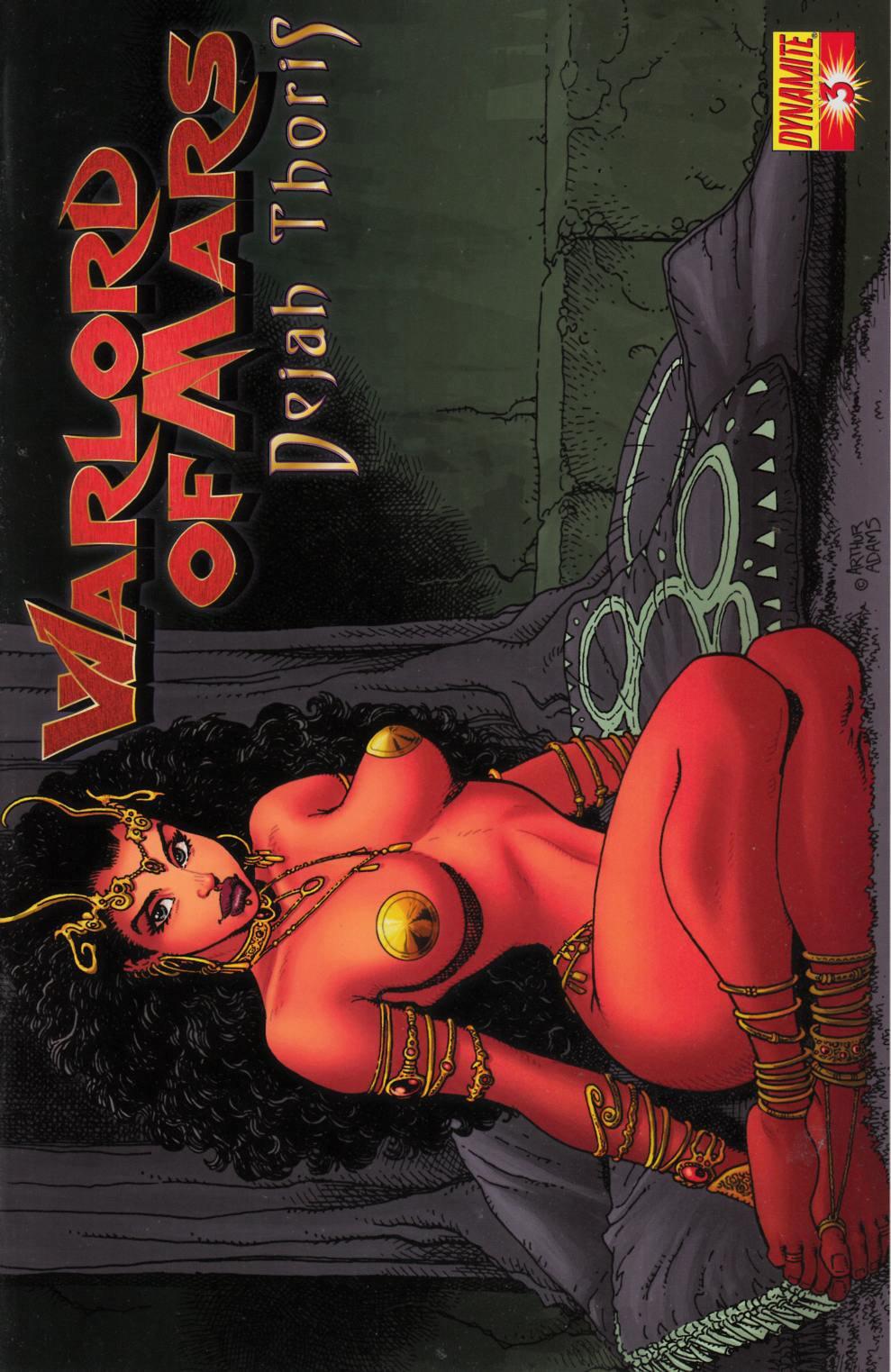 Wardlord of Mars Dejah Thoris #3 Adams Cover Very Fine (8.0) [Dynamite Comic] THUMBNAIL