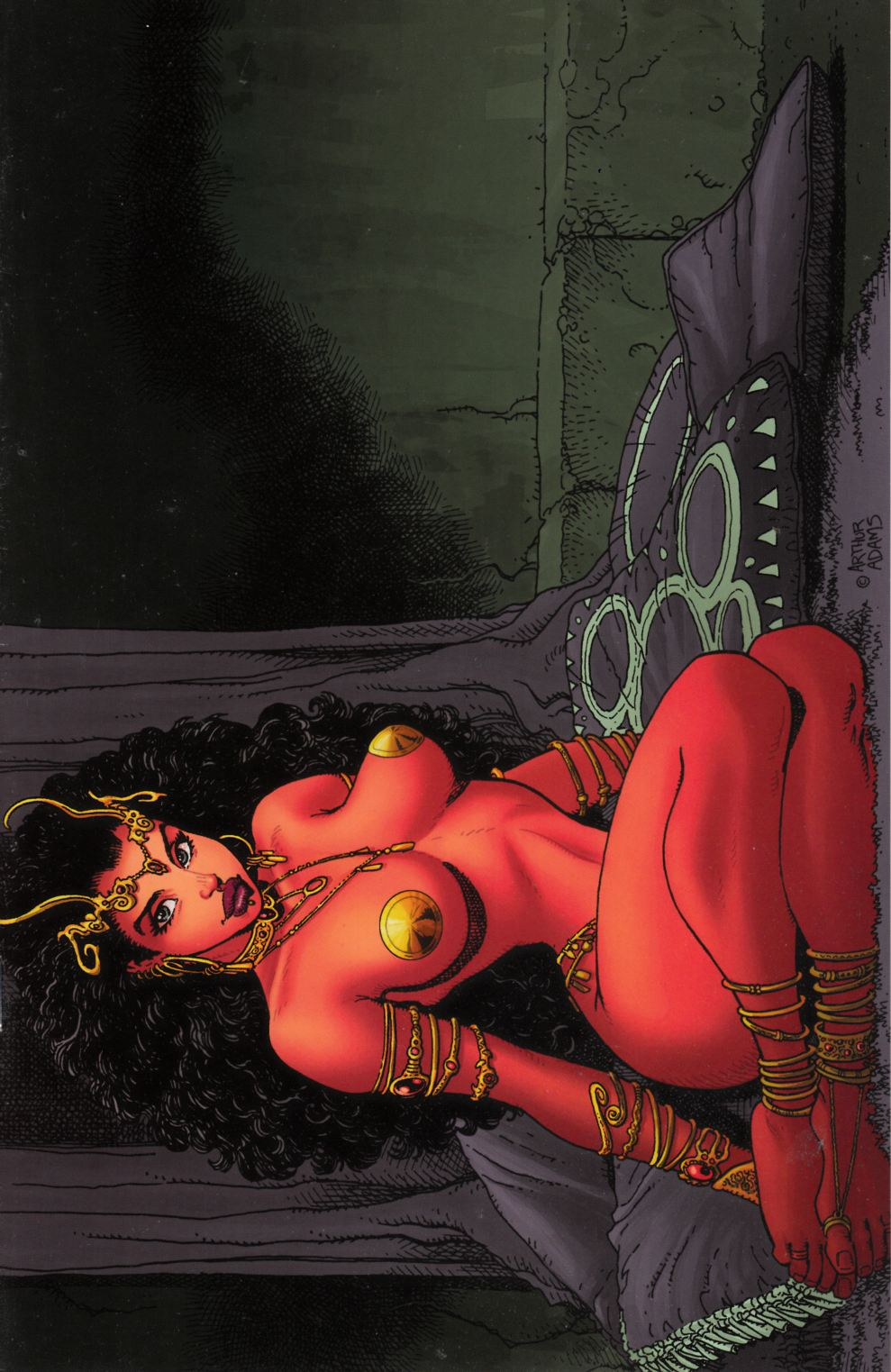 Warlord of Mars Dejah Thoris #3 Adams Virgin Variant Cover Very Fine (8.0) [Dynamite Comic] LARGE