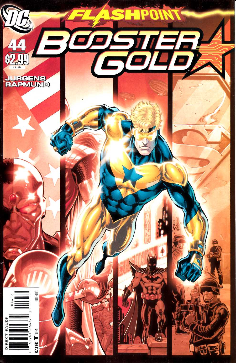 Booster Gold #44 Second Printing Very Fine (8.0) [DC Comic] THUMBNAIL