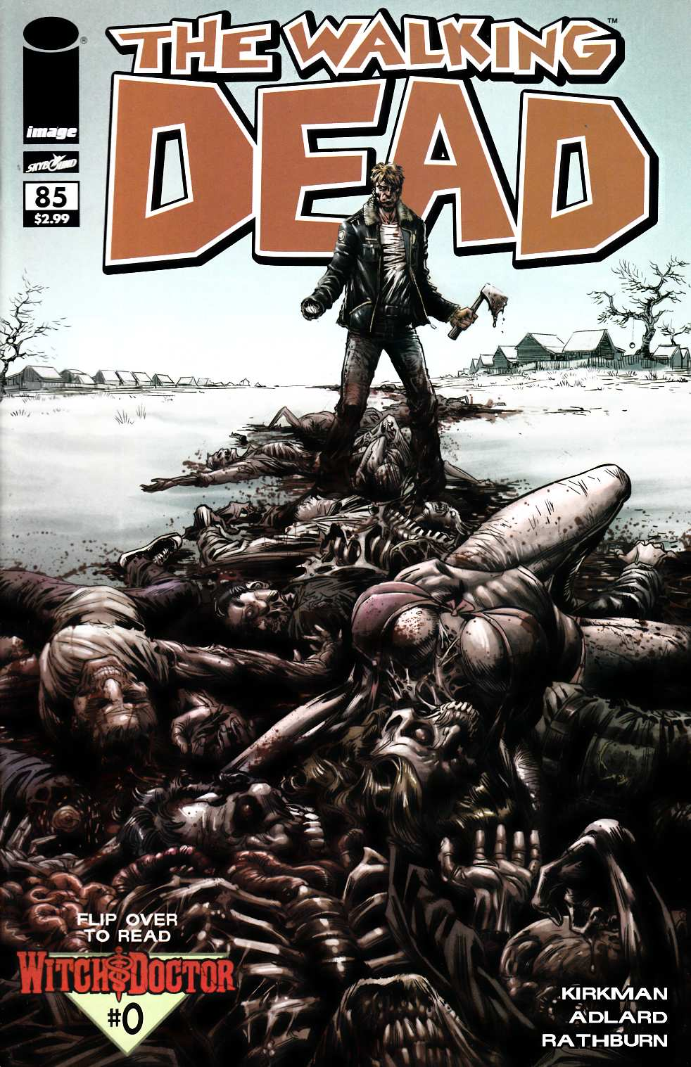 Walking Dead #85 Ketner Variant Cover- Near Mint (9.4) [Image Comic] THUMBNAIL