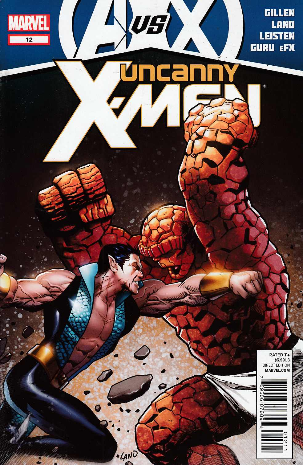 Uncanny X-Men #12 Near Mint (9.4) [Marvel Comic] THUMBNAIL