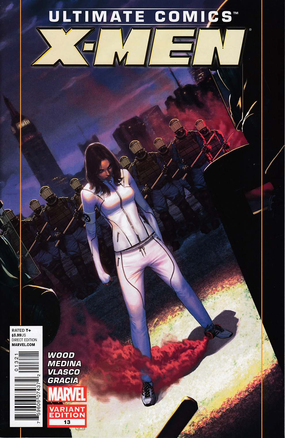 Ultimate Comics X-Men #13 Molina Variant Cover [Marvel Comic] THUMBNAIL
