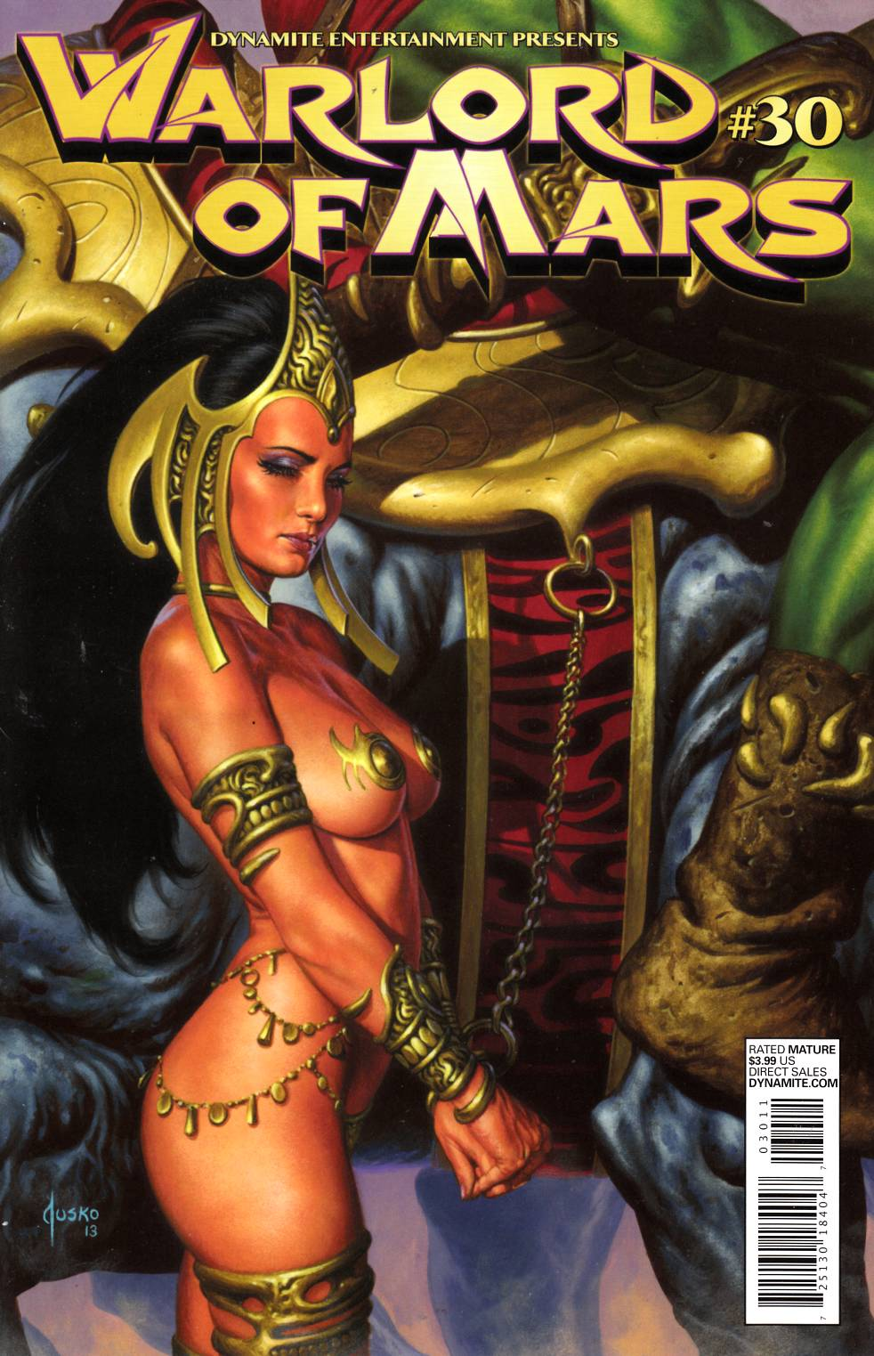 Warlord of Mars #30 Jusko Cover Near Mint (9.4) [Dynamite Comic]