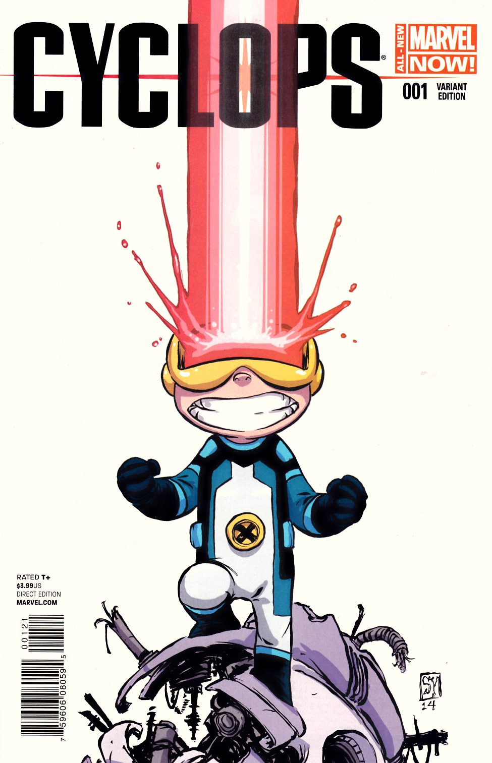 Cyclops #1 Young Baby Cover [Marvel Comic] THUMBNAIL