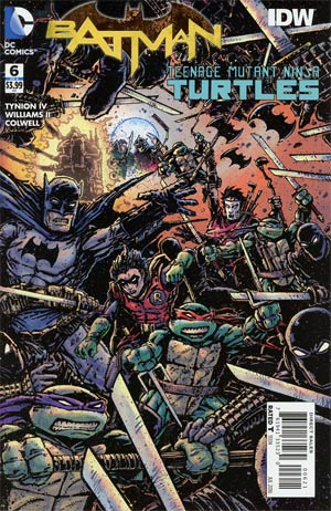 Batman Teenage Mutant Ninja Turtles #6 Eastman Variant Cover [DC Comic] THUMBNAIL