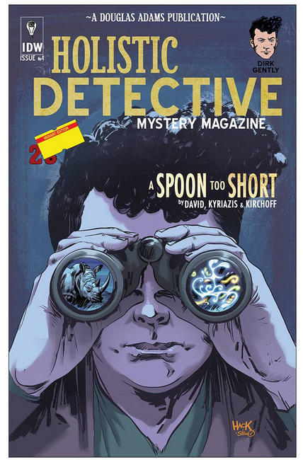 Dirk Gently A Spoon Too Short #4 Subscription Cover [IDW Comic]_THUMBNAIL