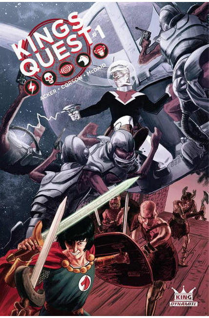 Kings Quest #1 Cover E [Dynamite Comic] LARGE