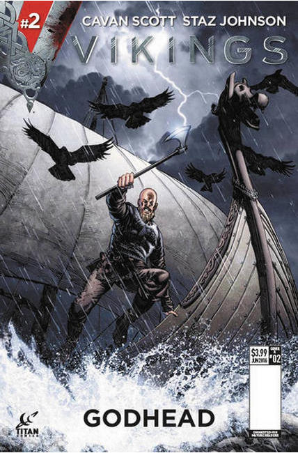 Vikings #2 Cover A [Titan Comic]