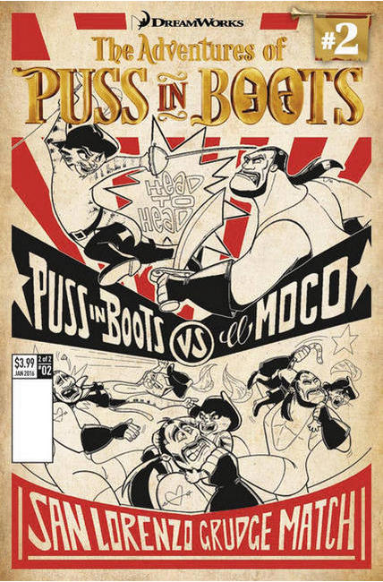 Puss In Boots #2 Cover B [Titan Comic]