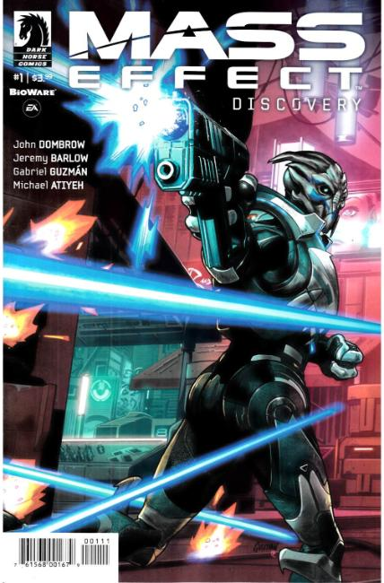 Mass Effect Discovery #1 [Dark Horse Comic]
