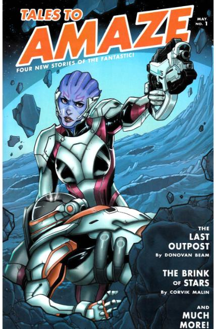 Mass Effect Discovery #1 Niemczyk Variant Cover [Dark Horse Comic]