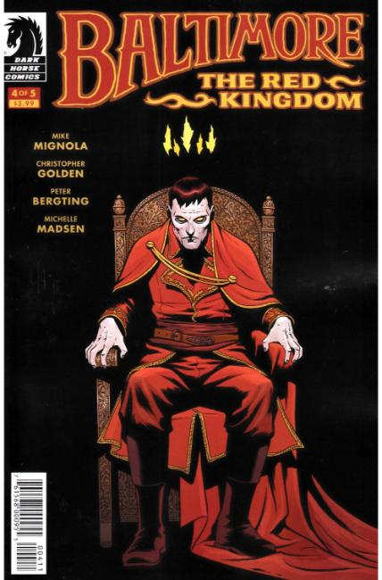 Baltimore The Red Kingdom #4 [Dark Horse Comic] LARGE