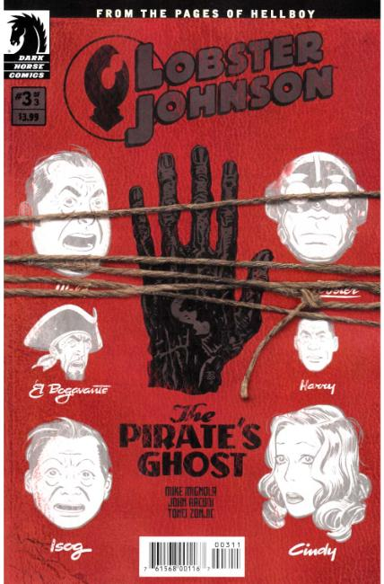 Lobster Johnson Pirates Ghost #3 [Dark Horse Comic] THUMBNAIL