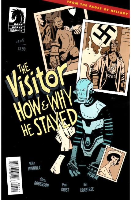 Visitor How and Why He Stayed #4 [Dark Horse Comic]
