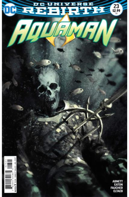 Aquaman #23 Middleton Variant Cover [DC Comic]