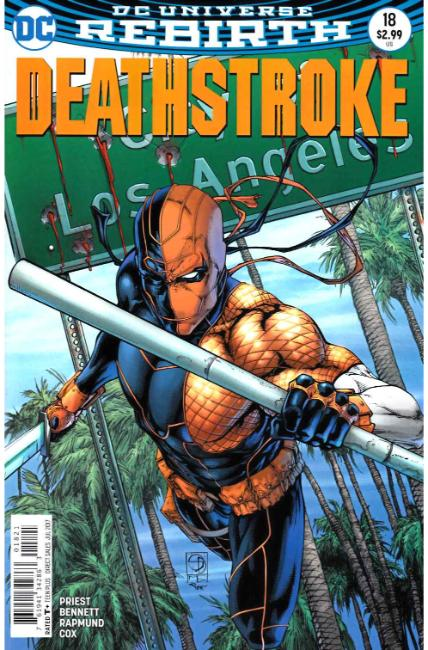 Deathstroke #18 Davis Variant Cover [DC Comic] THUMBNAIL