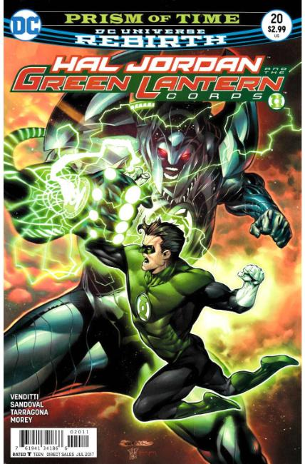 Hal Jordan and the Green Lantern Corps #20 [DC Comic] THUMBNAIL