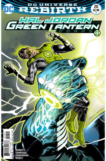 Hal Jordan and the Green Lantern Corps #20 Nowlan Variant Cover [DC Comic] THUMBNAIL