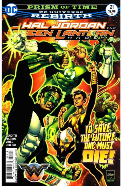 Hal Jordan and the Green Lantern Corps #21 [DC Comic] THUMBNAIL