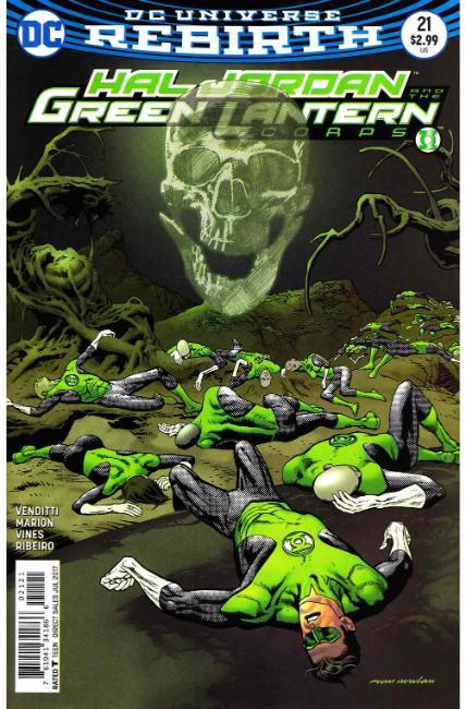 Hal Jordan and the Green Lantern Corps #21 Nowlan Variant Cover [DC Comic] THUMBNAIL