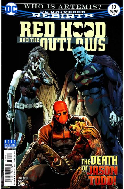 Red Hood and the Outlaws #10 [DC Comic] THUMBNAIL
