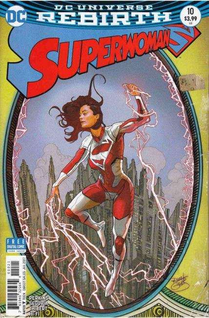 Superwoman #10 Guedes Variant [DC Comic] LARGE