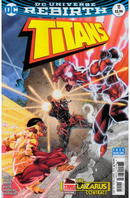 Titans #11 Booth Variant Cover [DC Comic] THUMBNAIL