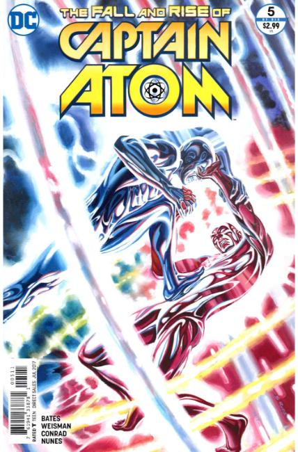 Fall and Rise of Captain Atom #5 [DC Comic] LARGE