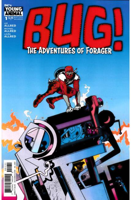 Bug The Adventures of Forager #1 Pope Variant Cover [DC Comic] THUMBNAIL