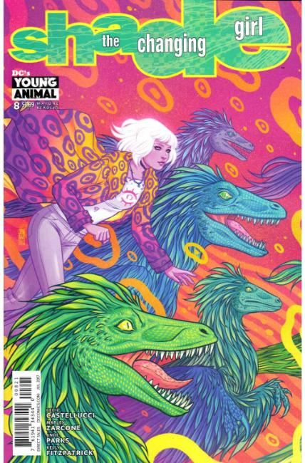 Shade the Changing Girl #8 Bartel Variant Cover [DC Comic] THUMBNAIL